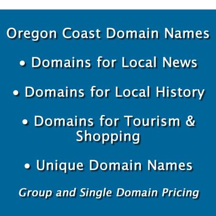 Oregon Coast Domain Names for Sale